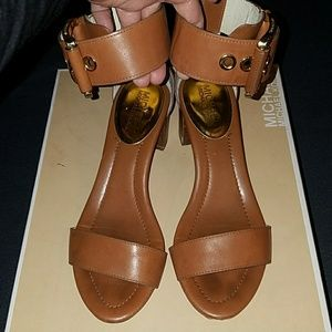 Michael Kors Ankle Strap Sandals in Size 6